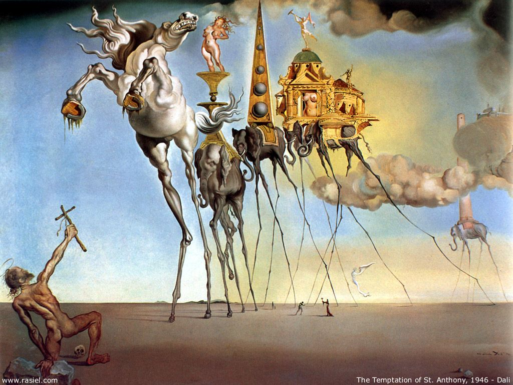 modernist art history dada and surrealism klaire chan talks on dada and surrealism klaire chan talks on salvador dalatildeshy s the temptation of st anthony 1946